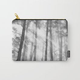 """Soothing Place"" - pencil drawing of the dark forest Carry-All Pouch"