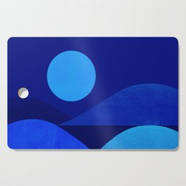 Abstraction_Moonlight Cutting Board