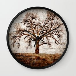 BARE BONES AND BRANCHES Wall Clock