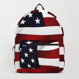 American Flag USA Backpack