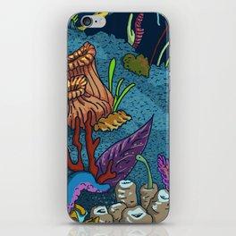 Underwater Cosmos iPhone Skin