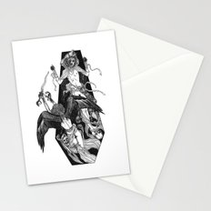 Inverted Coffin Stationery Cards