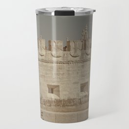 Miguel Belem Tower Lisbon Travel Mug
