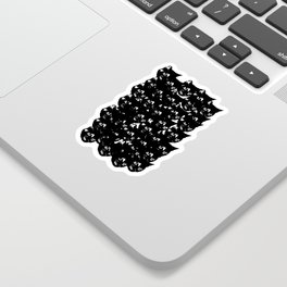 All-Over Tortoiseshell Kitty Stamp Sticker