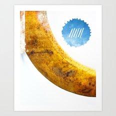 Le Cri de la Banane Art Print