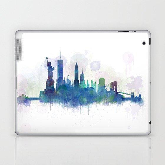 NY New York City Skyline Laptop & iPad Skin