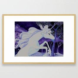 She is the Last Framed Art Print