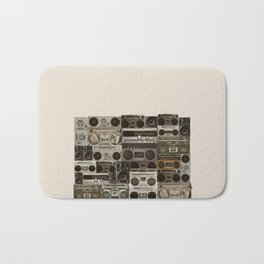 Wall Of Sound Bath Mat