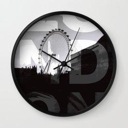 London NO1 Wall Clock