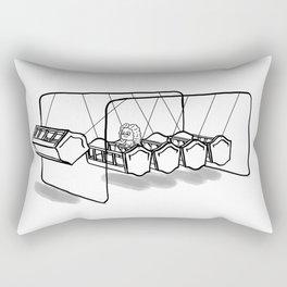 Newton's cradle Rectangular Pillow