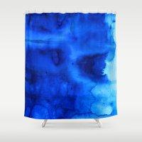marine Shower Curtains featuring Marine by itsme.emi