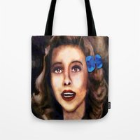 dorothy Tote Bags featuring Dorothy by Amanda Lee