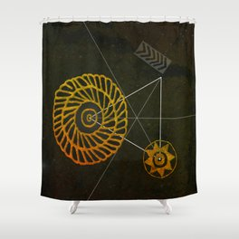 Looking for Ancestral Treasures Shower Curtain