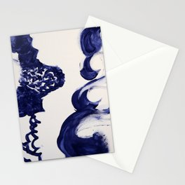 Women Waves Stationery Cards