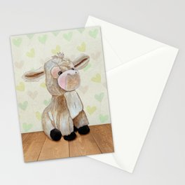 Cuddly Donkey Stationery Cards