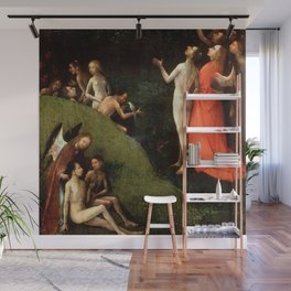 "Hieronymus Bosch ""Visions from the Hereafter - The Garden of Eden"" Wall Mural"