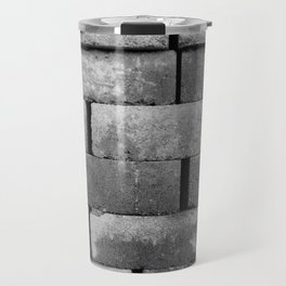 Construction Block Monochrome Travel Mug