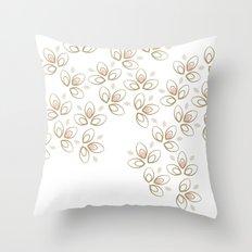 Light Blossoms Throw Pillow