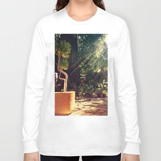 Sunshine on succulents Long Sleeve T-shirt