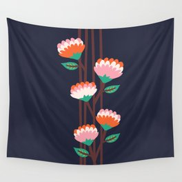 Benoít Flowers Wall Tapestry