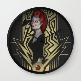 Zombie Saucers from Beyond the Grave! Wall Clock