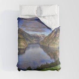 Sognefjorden - Norway Comforters