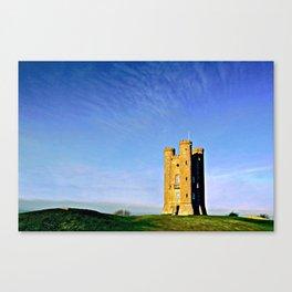 Broadway Tower, colour version. Canvas Print