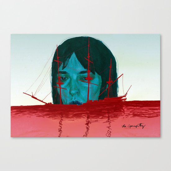 The Sinking Ship IS My Lifeboat. Canvas Print