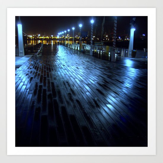 Night Walk Art Print