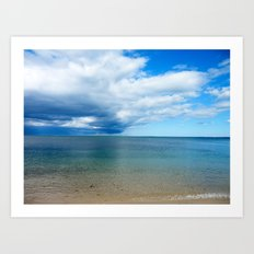 Storm Looming Art Print