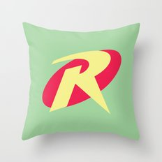 Robin Pastel Throw Pillow
