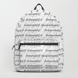 Elvish Backpack