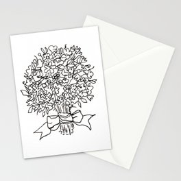 flower bunch Stationery Cards