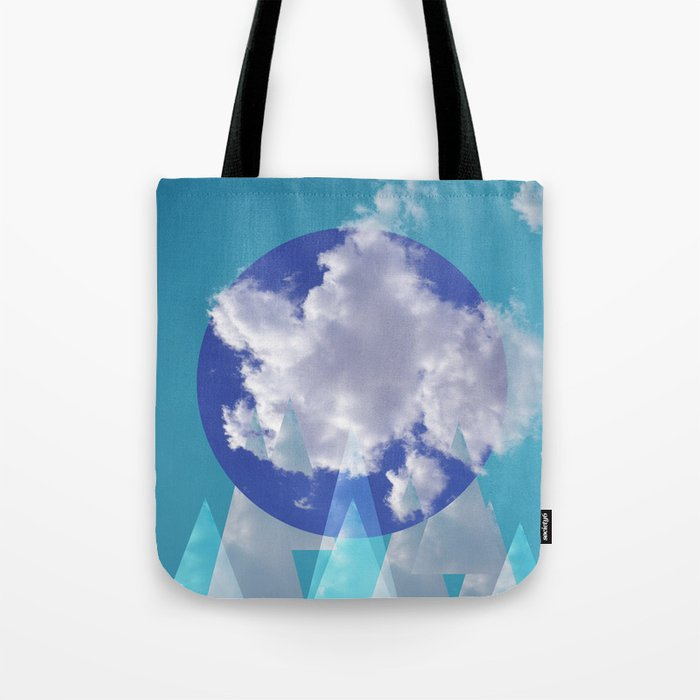 Clouds and Mountains II Tote Bag