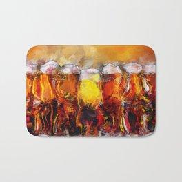 Beer Art Paintings Bath Mat