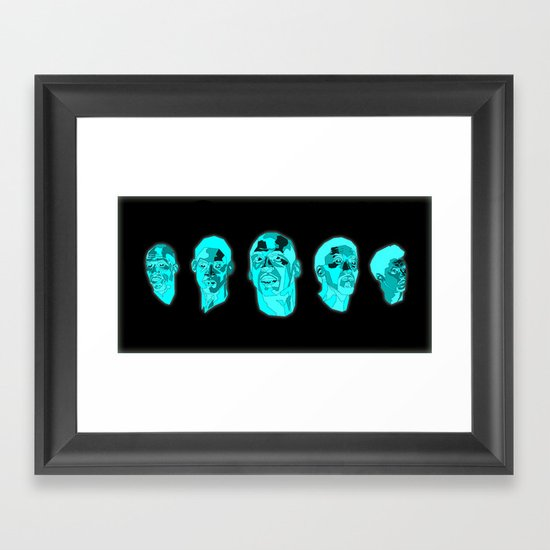 The Greatest Team Ever Framed Art Print