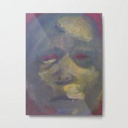 The Green Mask Metal Print