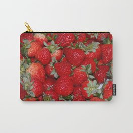 Strawberries Forever Carry-All Pouch