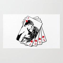 LOVE CARDS Rug