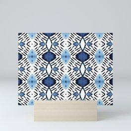 Blue Tundra Mini Art Print