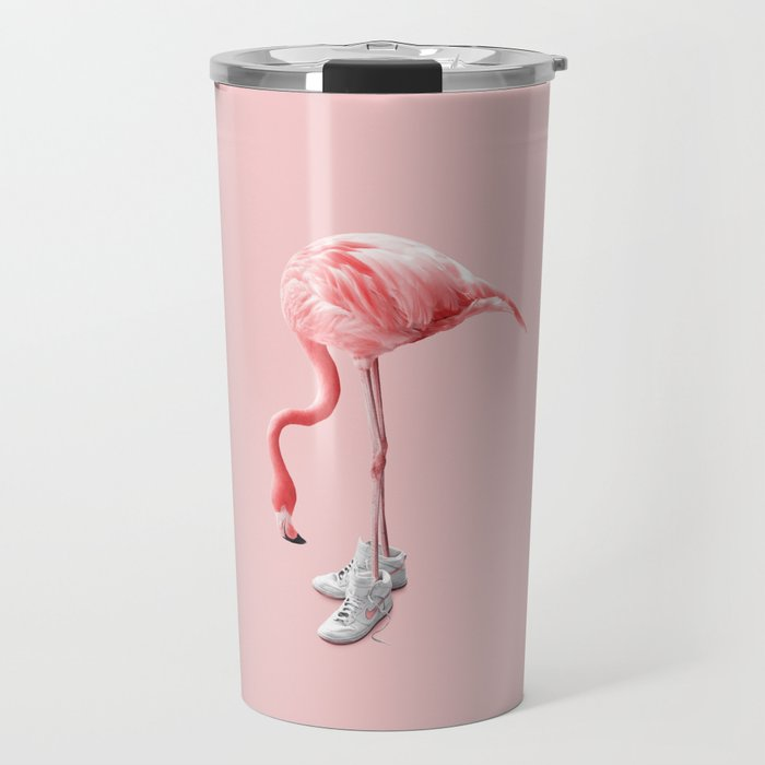 SNEAKER FLAMINGO Travel Mug
