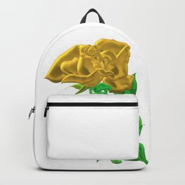 Precious golden rose by Class4569 Backpack