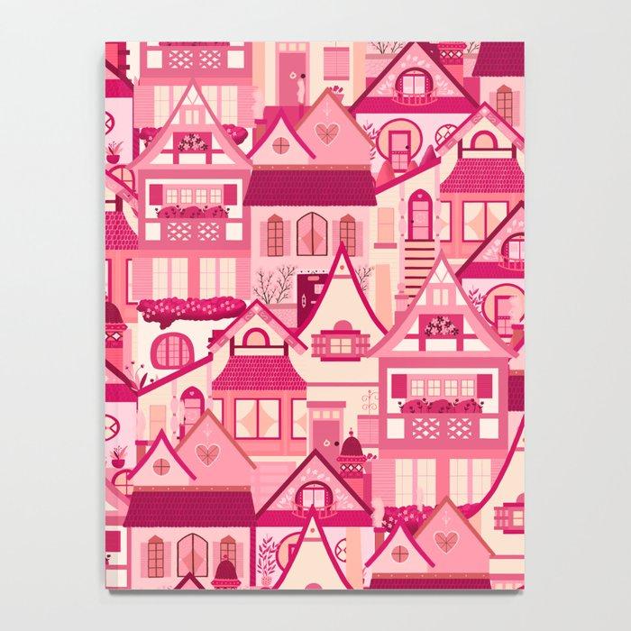 Pink Little Town Notebook