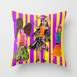 Dance Angel Throw Pillow