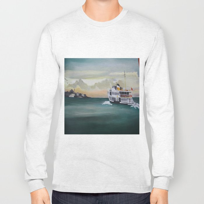 Ferry İstanbul Long Sleeve T-shirt