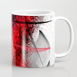 under the spotlight abstract digital painting Coffee Mug
