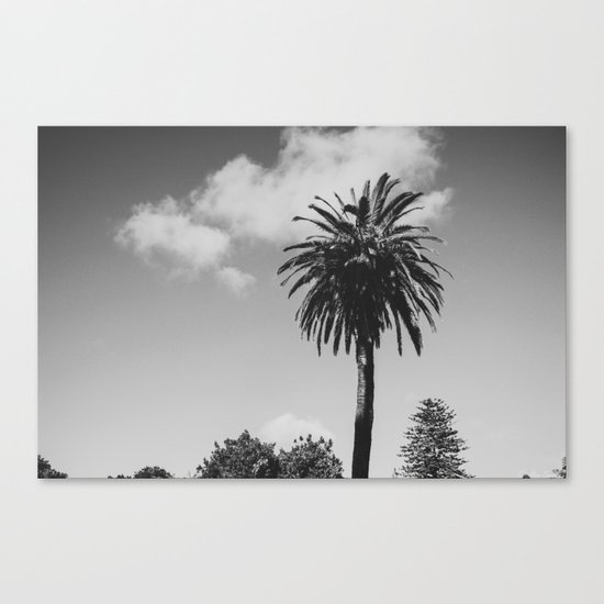 Keep Palm, and Carry On Canvas Print