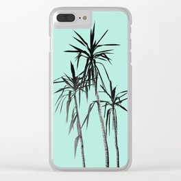 Palm Trees - Mint Cali Summer Vibes #1 #decor #art #society6 Clear iPhone Case