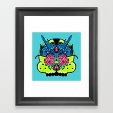 Dragon Skull Framed Art Print