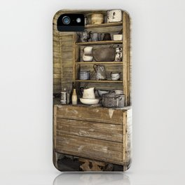 Old kitchen in Louisiana iPhone Case